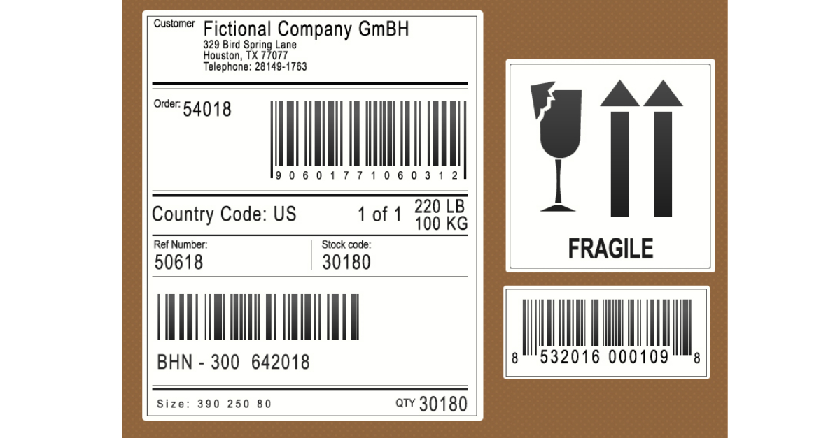 It's just a graphic of Resource Manufacturing Label Printing Software