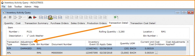 How to use reason codes to track inventory adjustments in ERP